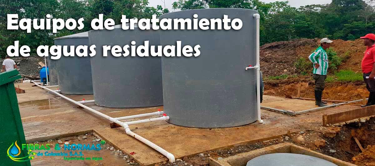 Equipos de tratamiento de agua residuales